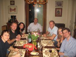 Dinner Party Kristen Rob 1